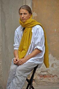 David Leubner auf der Bühne. Foto: privat
