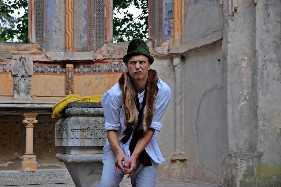 """David Leubner spielt im Theaterstück """"Der kleine Prinz"""" alle Rollen selbst. Foto: privat"""