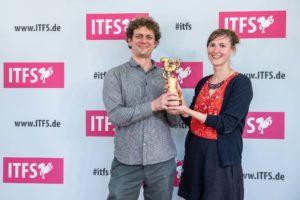 Für die Idee der Kombination aus Mitmalen und Filmmachen gab es beim Internationalen Trickfilmfestival in Stuttgart sogar einen Preis. Foto: Reiner Pfisterer