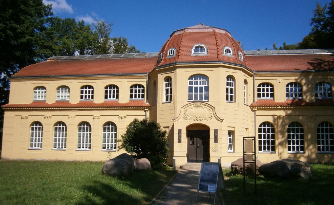 Das Altenburger Naturkundemuseum Mauritianum im Schlosspark der Skatstadt. Foto: Ralf Miehle