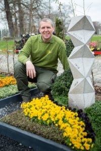 Oliver Brehmer beteiligt sich ein weiteres Mal an Wettbewerben einer Bundesgartenschau - diesmal in Erfurt. Foto: PF